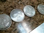 CANADA Silver Coin 1864-1964 ELIZABETH II DEI GRATIA REGINA